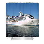 Coral Princess Shower Curtain