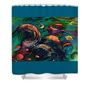 Coral Reef 2 Shower Curtain