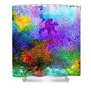 Coral Reef Impression 6 Shower Curtain