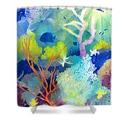 Coral Reef Dreams 1 Shower Curtain