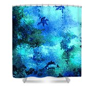 Coral Reef Impression 12 Shower Curtain