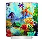 Coral Reef Impression 13 Shower Curtain