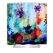 Coral Reef Impression 14 Shower Curtain