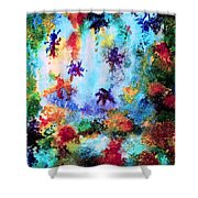 Coral Reef Impression 16 Shower Curtain
