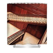 Corcoran Gallery Staircase Shower Curtain