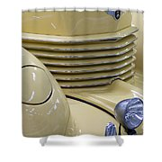 Cord 812 Oldtimer From 1937 Grill Shower Curtain