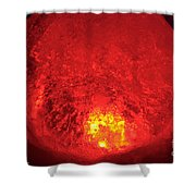 Core Flame Shower Curtain