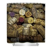 Corks Shower Curtain