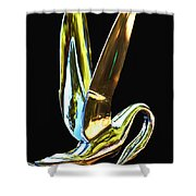 Cormorant Ornament Shower Curtain by Jean Noren