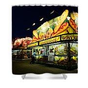 Corn Dog Kiosk Shower Curtain