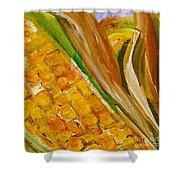 Corn In The Husk Shower Curtain