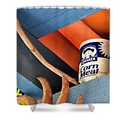 Corn Meal And Ritz 31906 Shower Curtain