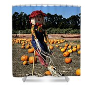 Corn Mom Shower Curtain