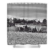 Corn Picker November 2013 Shower Curtain