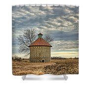 Corncrib #1 Shower Curtain