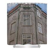 Corner Building Helsingborg 02 Shower Curtain