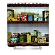 Corner Grocery Store Shower Curtain