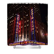 Corner Of Radio City Music Hall Shower Curtain