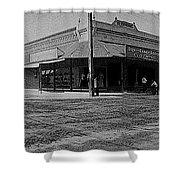 Corner Of Stone And W. Congress Street 180 Degrees Panorama Tucson Arizona C.1905 Shower Curtain