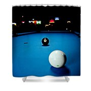 Corner Pocket Shower Curtain