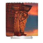 Corner Sunset Shower Curtain