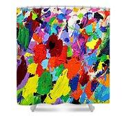 Cornucopia Of Colour I Shower Curtain by John  Nolan