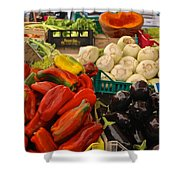 Cornucopia's Abundance Shower Curtain