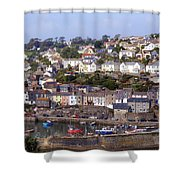 Cornwall - Mevagissey Shower Curtain