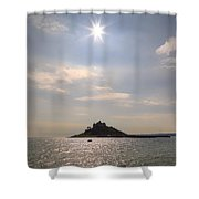 Cornwall - St Michael's Mount Shower Curtain