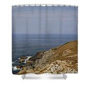 Cornwall - Trevose Head Shower Curtain