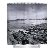 Cornwall Coastline 2 Shower Curtain
