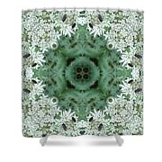 Cornwall Flowers Two Shower Curtain