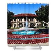 Corona Ca Civic Center Shower Curtain