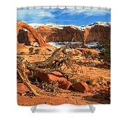 Corona Canyon Shower Curtain