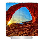 Corona Sun Burst Shower Curtain