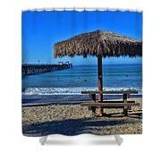 Corona Time Shower Curtain