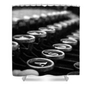 Corona Zephyr Keyboard Shower Curtain