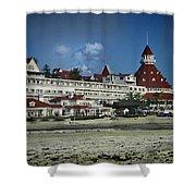 Coronado Hotel Shower Curtain