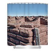 Coronado Monument Adobe Walls Shower Curtain