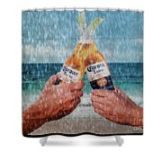 Coronas In The Rain Shower Curtain