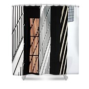 Corporate Eyes  Shower Curtain