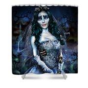 Corpse Bride Shower Curtain