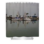 Corpus Christi Bay Shower Curtain