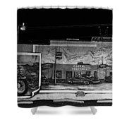 Corral Cocktails Mural Shower Curtain