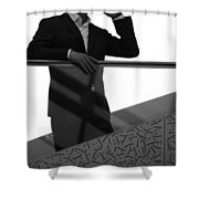 Correct Call Shower Curtain