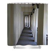 Corridor Shower Curtain by Randi Shenkman