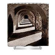 Corridors Of Stone Shower Curtain