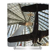 Corsairs In The National Marine Corps Museum In Triangle Virginia Shower Curtain