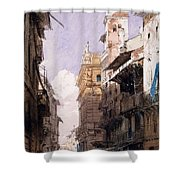 Corso Saint Anastasia, Verona Shower Curtain