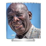 Cortright Aged Shower Curtain